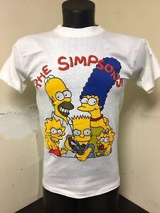 5081bdcd6c72d Details about Vintage Bootleg Simpsons T Shirt Sz Small 90s