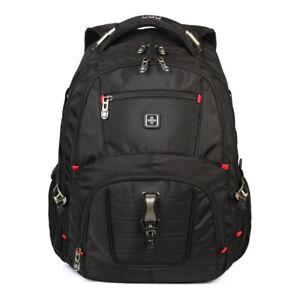 Swiss-gear-Branded-Travel-Laptop-Backpacks-Outdoor-Camping-Rucksacks-40L-Black