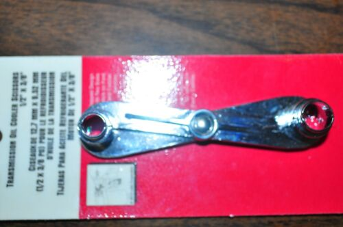 """Transmission Oil Cooler Line Scissors 3//8/"""" x 1//2/"""" for Ford Cadillac Lisle 39660"""