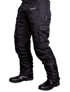 MOTODRY-STREET-WATERPROOF-PANTS-MEN-039-S-BLACK-MOTORCYCLE-PANTS-CMPS2