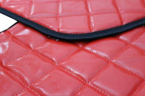 LKW VOLVO FH 4 ab 2013 Passform Armaturenbrett Abdeckung Kunstleder Rot
