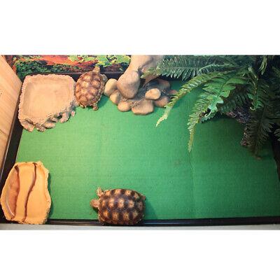Reptile Terrarium Bedding Substrate Liner Green Pet Snakes Turtle Lizard Mat Ebay