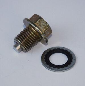 Magnetic Oil Drain Plug Chevrolet 2500 3500 6 6l Duramax
