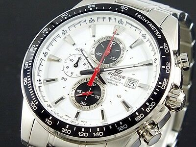 CASIO EDIFICE Chronograph 100M EF547D-7A1 EF-547D-7A1 Free Ship!