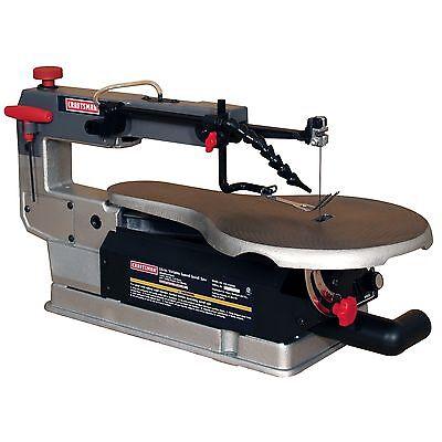 """Craftsman 16"""" 1/4HP Scroll Saw Variable Speed Jig Sabre Woodworking Workshop"""