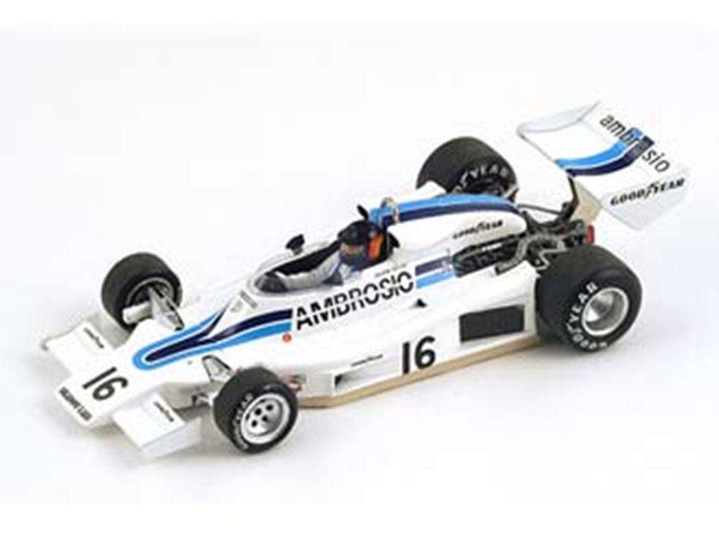 Spark s1689 shadow dn8 résine modèle voiture de course de course Oliver champion 1977 1 43 RD