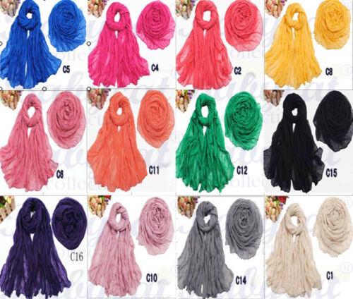 Schal Tuch Baumwolle 19 Farben 75 cm breit  rot//grau//gelb//schwarz// blau ..T02
