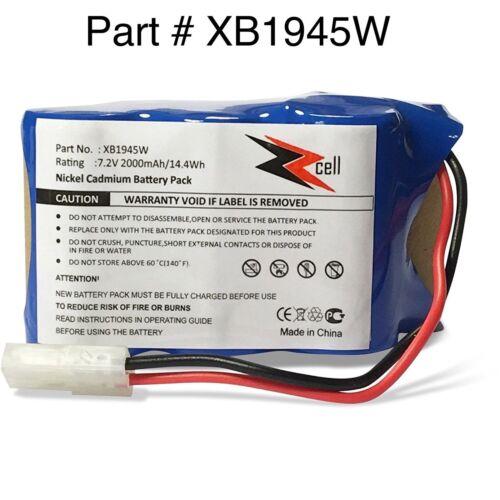 V1945Z V1945 XB1946 ZZcell Battery For Shark Euro Pro Vacuum XB1945W XB1946W