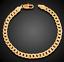 18k-feine-Goldkette-vergoldet-Armkette-extra-dick-Maenner-Armband-Herren-Damen Indexbild 3