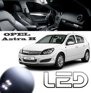 Opel Astra h-pack 7 LED-Lampen weiß Beleuchtung Deckenleuchte ...