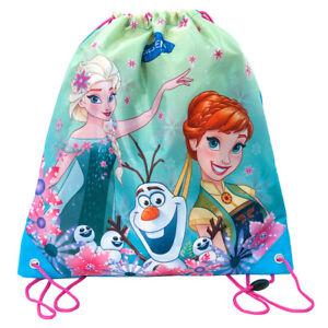 Frozen-Shoe-Bag-Drawstring-Dance-Swim-Beach-Gym-Sports-Girls