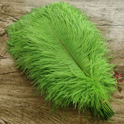 10-100pcs Beautiful 6-24inch//15-60cm Natural Ostrich Feathers Wedding Decoration