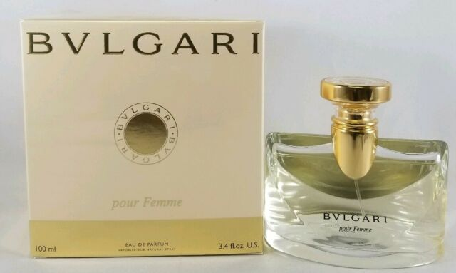 Bvlgari Pour Femme by Bvlgari 100ml 3.4 Oz Eau De Parfum Spray Brand New Sealed