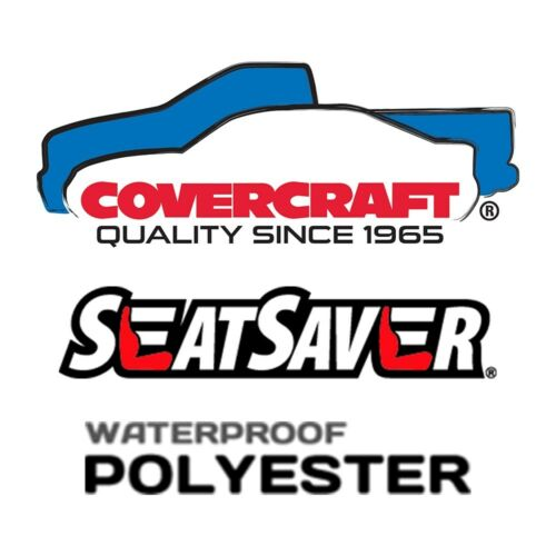 Front Row 2 Color Options Covercraft Custom SeatSavers Waterproof Polyester