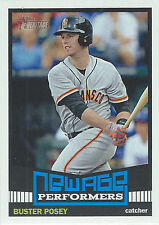 2015 Topps Heritage New Age Performers #NAP8 Buster Posey