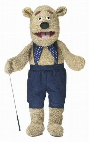 Silly Puppets Silly Bear 28 inch Full Body Puppet with Arm Rod