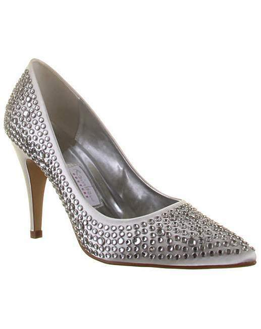 Rainbow Club Antonia Womens Diamanté Wedding Shoe UK6