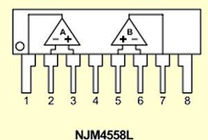 2-pcs-NJM4558LD-JRC-Operationsverstaerker-Dual-High-Gain-SIP8-NEW-BP