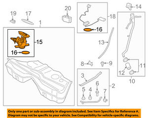 details about bmw oem 12 17 m6 fuel pump 16117845656 Johnson Evinrude Fuel Pump Diagram