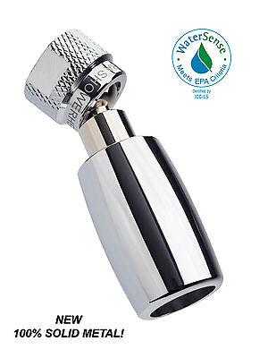 Nickel High Sierra/'s 1.8 GPM All Metal Low Flow Handheld Shower w//Valve /& Hose