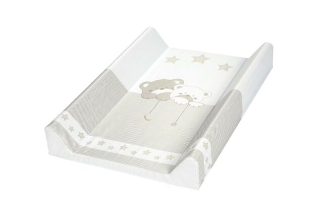 Wickelauflage 47x70 Wickelbrett Wickeltisch braun Bär mit Stern