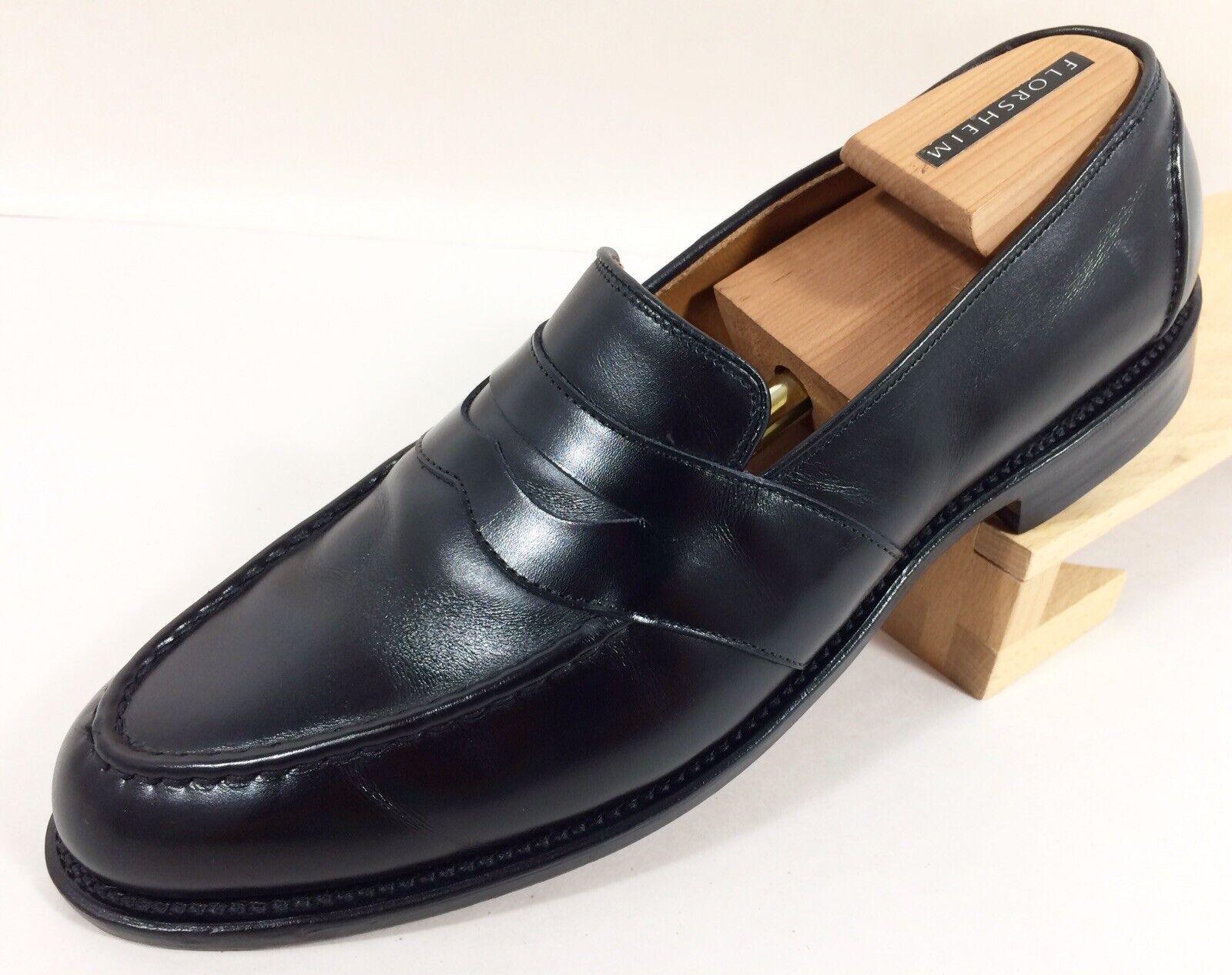 Allen Edmonds  RANDOLPH  Penny Loafer Black Slip-on Men US 11.5 B  EU 45.5  4809