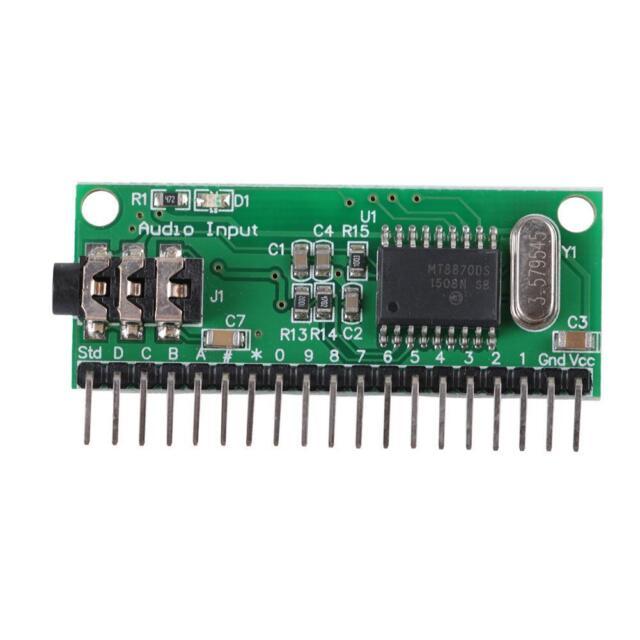 16 Channels Mt8870 DTMF Audio Decoder Phone Voice Decoding Controller JS