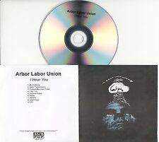 ARBOR LABOR UNION I Hear You 2016 UK 9-trk promo test CD