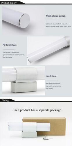 LED Bathroom Vanity Wall Lamp Makeup Front Mirror Light Bath Toilet Fixture Home