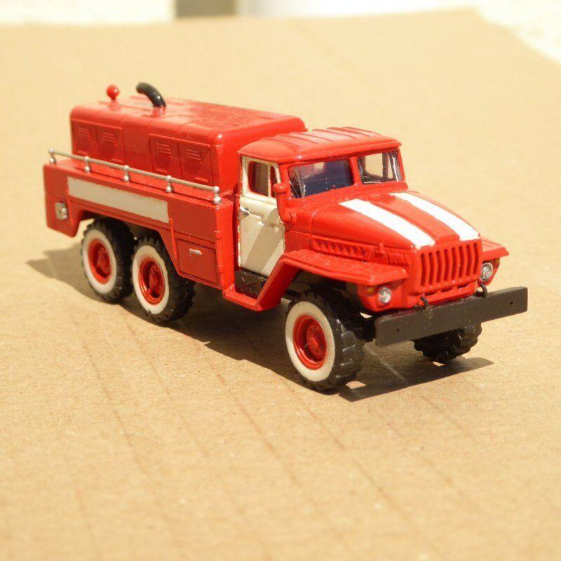 Rk modelle h0 ural 4320-d Feuerwehr-generatorwagen der DDR, CSSR, udssr, Galley 1