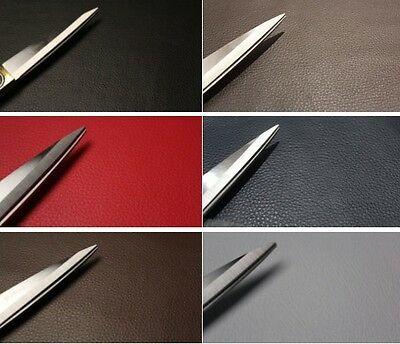 FAUX LEATHER VINYL UPHOLSTERY FABRIC LEATHERETTE FIRE RETARDANT MATERIAL