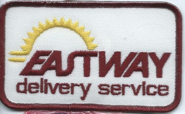 Eastway Delivery Service driver/employee patch 2-5/8 X 4-1/2 inch #1090