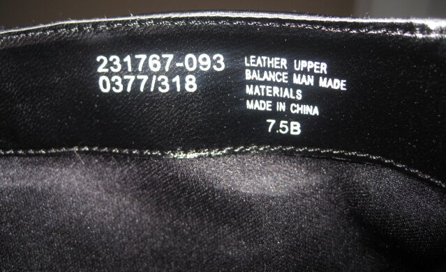 VICTORIA'S BLACK SECRET COLIN STUART BLACK VICTORIA'S LEATHER 7.5 BUCKLE Stiefel 7fa5ad