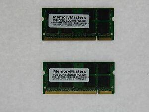 2GB-2x1GB-DDR2-PC2-5300-Mem-for-Dell-Latitude-D820-D830-D620-D630