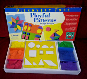 Discovery-Toys-Playful-Patterns-Design-Activity-Geometric-Shapes-Colors-1996