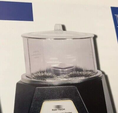 Raytech Finishing Bowl And Cover For CFM-1200 Magnetic Finisher Item 23072