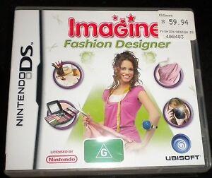 Nintendo Ds Imagine Fashion Designer Ebay