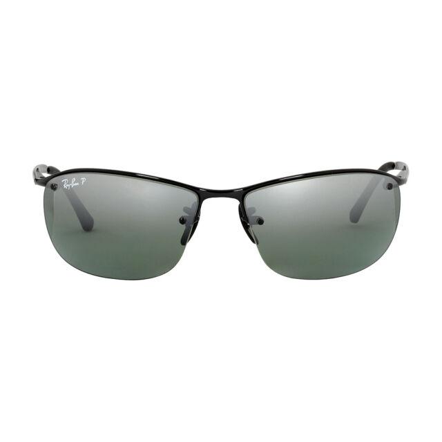 beb053550ed Sunglasses Ray-Ban Rb3542 002 5l 63 Black Mirror Polarized Chromance ...