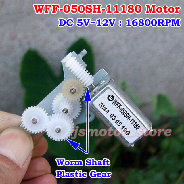 MABUCHI FF-050SK-11170 DC 12V 17500 RPM Micro-Motor für CD-Player Elektrorasiere