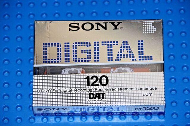 Used Sony DT-120 DAT Digital Audio Tape