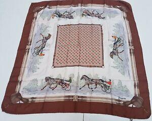 Foulard-Bayron-isa-100-silk-pura-seta-carre-original-made-in-italy-vintage