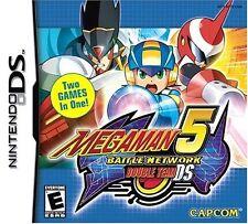 Mega Man Battle Network 5: Double Team [Nintendo DS DSi, 2 Games, Capcom] NEW