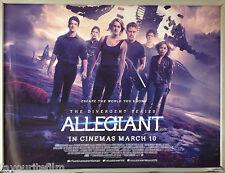 Cinema Poster: ALLEGIANT 2016 (Main Quad) Shailene Woodley Zoë Kravitz Maggie Q