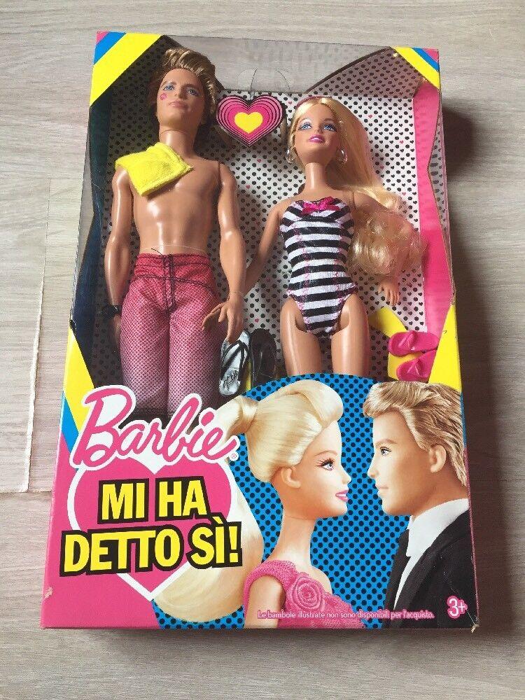 2010 Barbie Ken Mi Ha Detto  Si  Nrfb  garantito