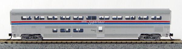N  Amtrak SuperLiner 5 car set Amtrak II  (1-40671)