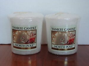 Yankee-Candle-Votive-Candles-034-North-Pole-034-1-75-oz-Set-of-2-New