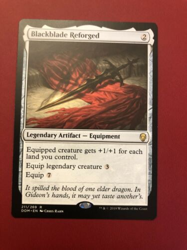 Blackblade Reforged NM//MT Dominaria MTG Brandy New!