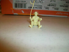 FLAT CREAM WAGON DRIVER WITH WHIP FROM BY LOUIS MARX TOY COMPANY