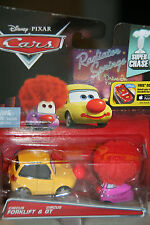 "DISNEY PIXAR CARS 2 ""CIRCUS FORKLIFT & CIRCUS GT"" SUPER CHASE-LIMITED 4000 UNITS"