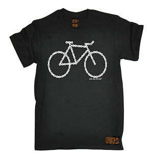 Bicycle-Made-Of-Chain-T-SHIRT-tee-cycling-jersey-funny-birthday-gift-present-him